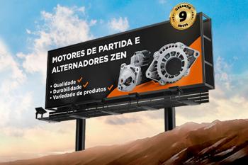 ZEN lança linha de motores de partida e alternadores completos