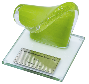Troféu Onda Verde, do Prêmio Expressão de Ecologia