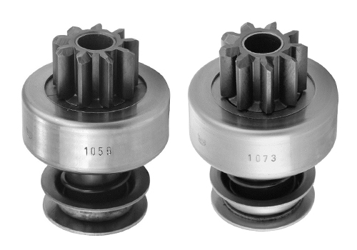 Diferenças nos impulsores de partida ZEN 1059 e 1073