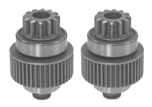 Differences between starter drives 1676 and 1081