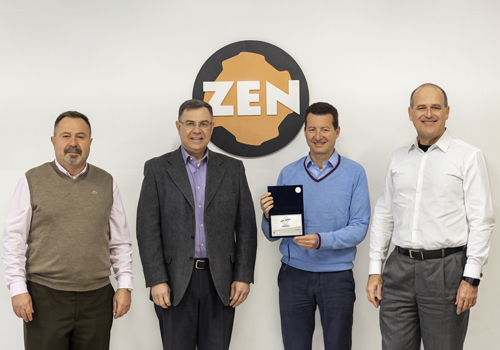 ZEN receives the 2018 Best of Automotive Sector Award