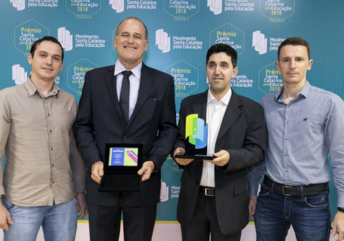 ZEN wins the Santa Catarina Award for Education for  the third time